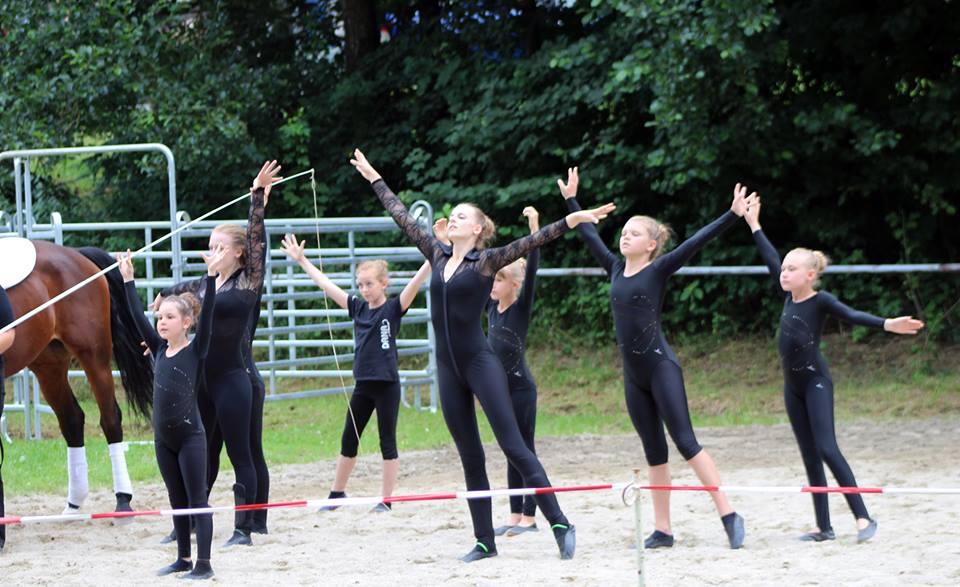 Auftritt der Turniergruppe in Senden - Juli 2016