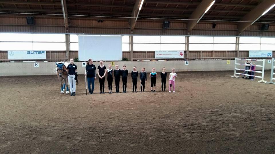 Einzelvoltigieren, Turnier Weißenhorn - Juni 2016