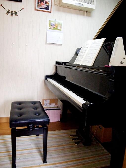 poco a pocoピアノ教室レッスン室