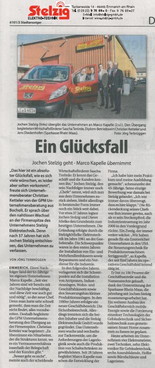 Quelle: © Stadtanzeiger Emmerich, Ausgabe 29.09.2018