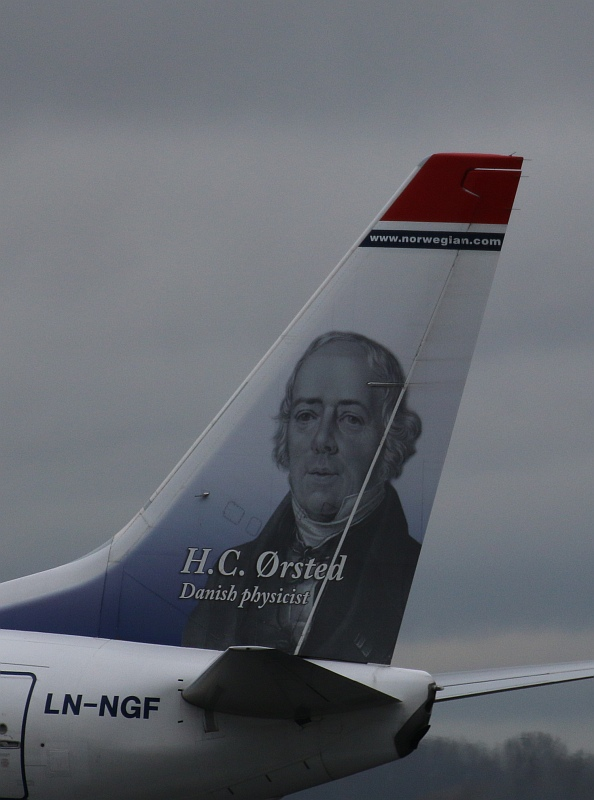 "B 737-8JP/W  "" LN-NGF ""  Norwegian Air Shuttle -2"
