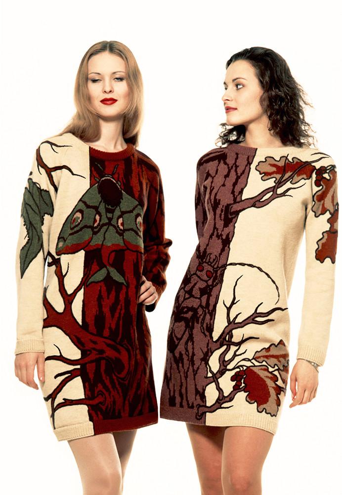 "Alexander Seraphim's knitwear, ""Mimicry #7"", 1994"