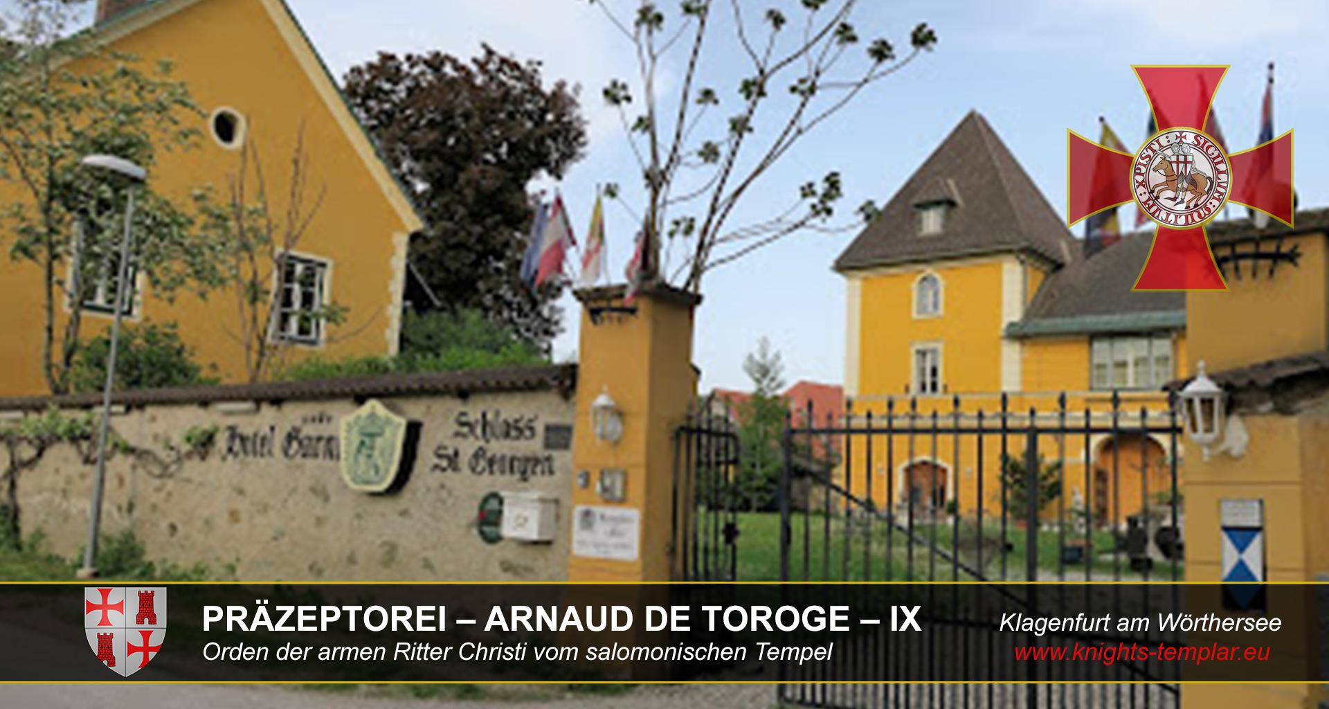 PRÄZEPTOREI – ARNAUD DE TOROGE – IX Klagenfurt am Wörthersee