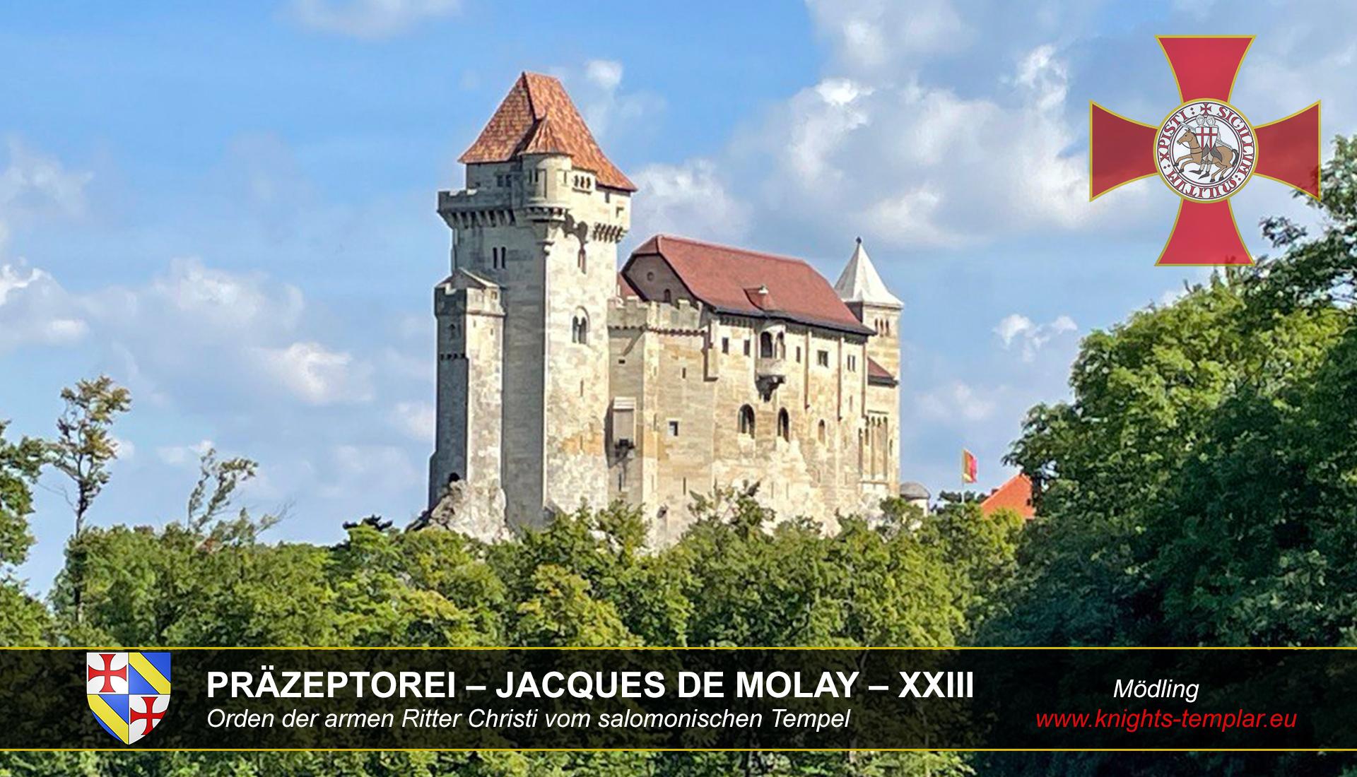 PRÄZEPTOREI – JACQUES DE MOLAY - XXIII - Burg Liechtenstein