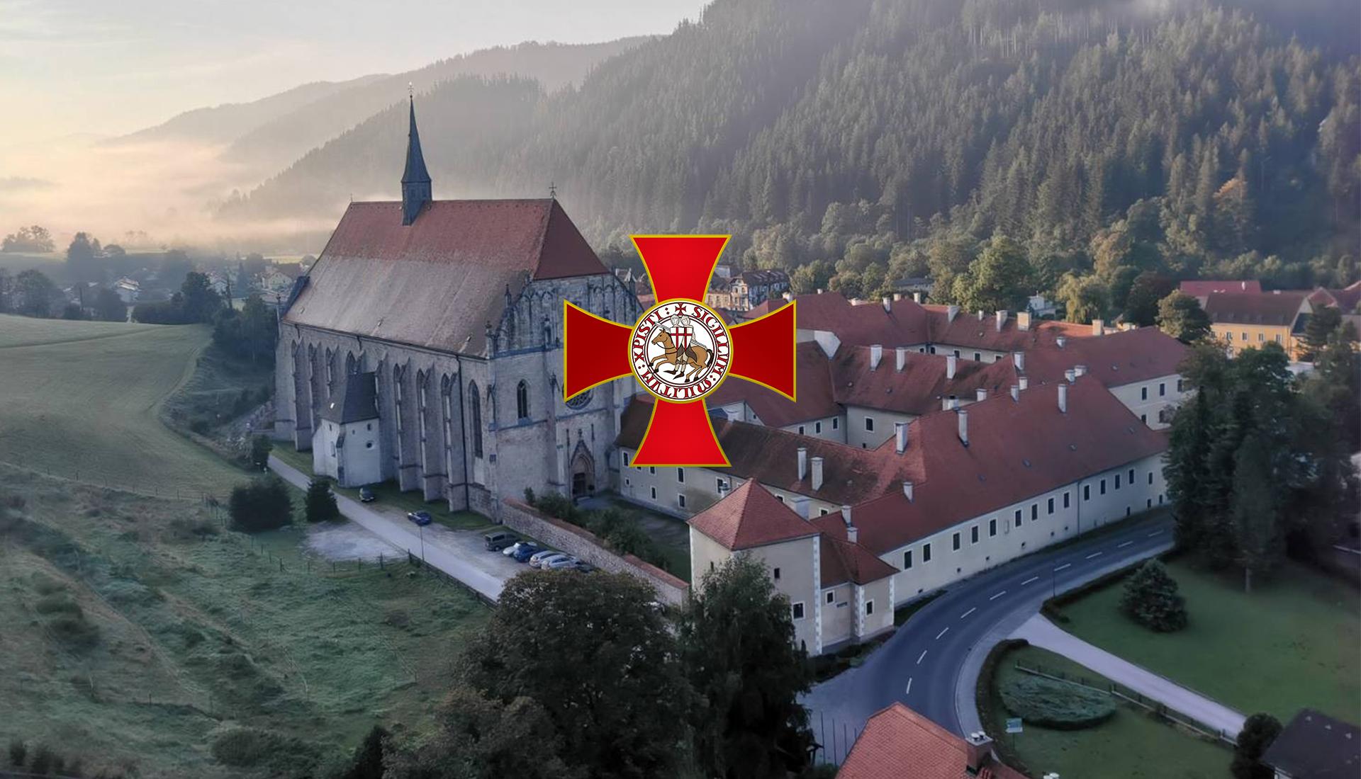 Initiationsfeier der Tempelritter in Österreich - Neuberg an der Mürz