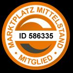 Gütesiegel - geprüfter Lieferant Marktplatz Mittelstand