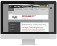 mobil optimierte Webseite