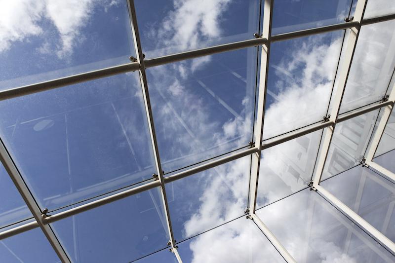 Glasfronten ohne lästige Kalkflecken