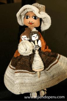 muñeca telar cusco tejiendoperu