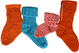Tejer medias lana dos agujas - Como hacer calcetines de lana a dos agujas ...