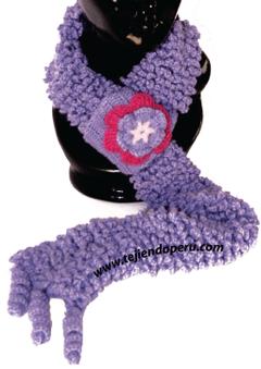 Crochet paso a paso: bufanda corderito