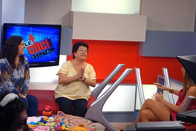 """Tejiendo Perú en el programa """"Doble Click Digital"""" de ATV+"""