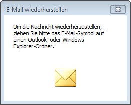 itmc.de MailArchiv Outlook Addin E-Mail-Wiederherstellung