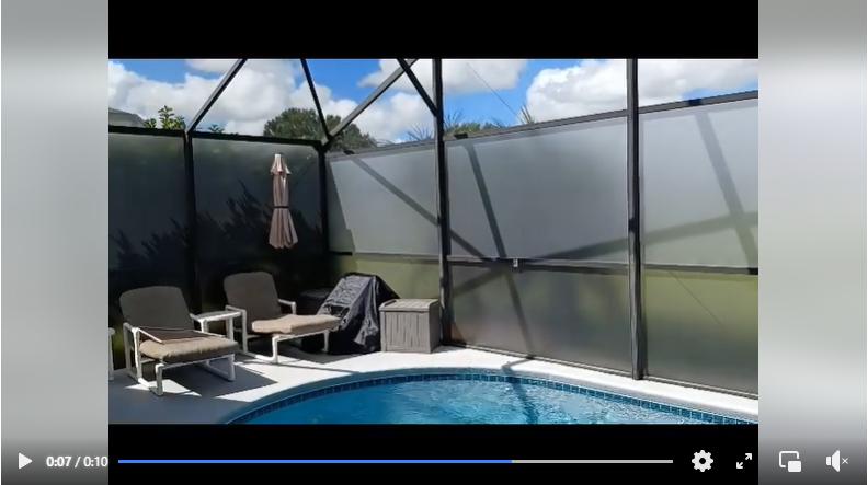 pool rescreen