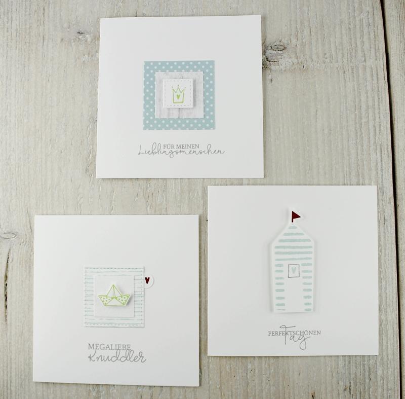 Grußkarten, Karten, maritim, Schiff, Anker, Meer, Geschenk, Mitbringsel