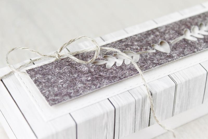 Geschenkverpackung, Geschenkbox, Valentinstag, Geschenk für den Mann, Herzchen, Holzoptik