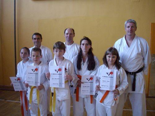 """Katrin,Tim,Jonas,Bernadette,Michaela,Andreas, """"Karl&Karl""""(2008)"""