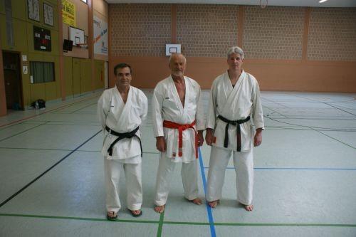 Lehrgang mit Gilbert Gruss-Karl-Jost Fischer, Gilbert Gruss, Andreas Merten