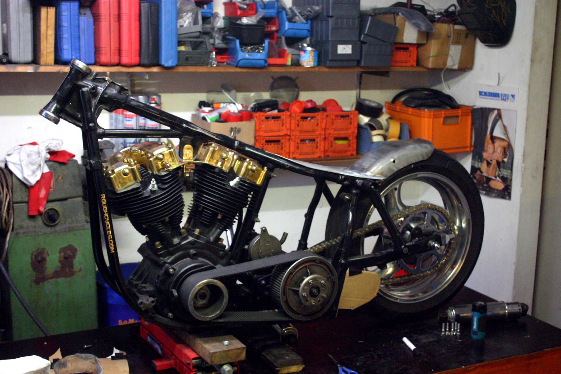 Rough Cycles Shovelhead