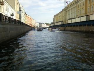 Moika-Fluß