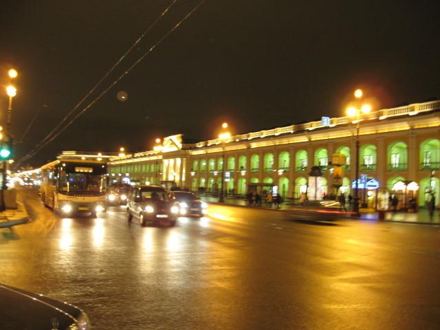 Hauptstrasse von Sankt Petersburg- Nevsky Prospekt