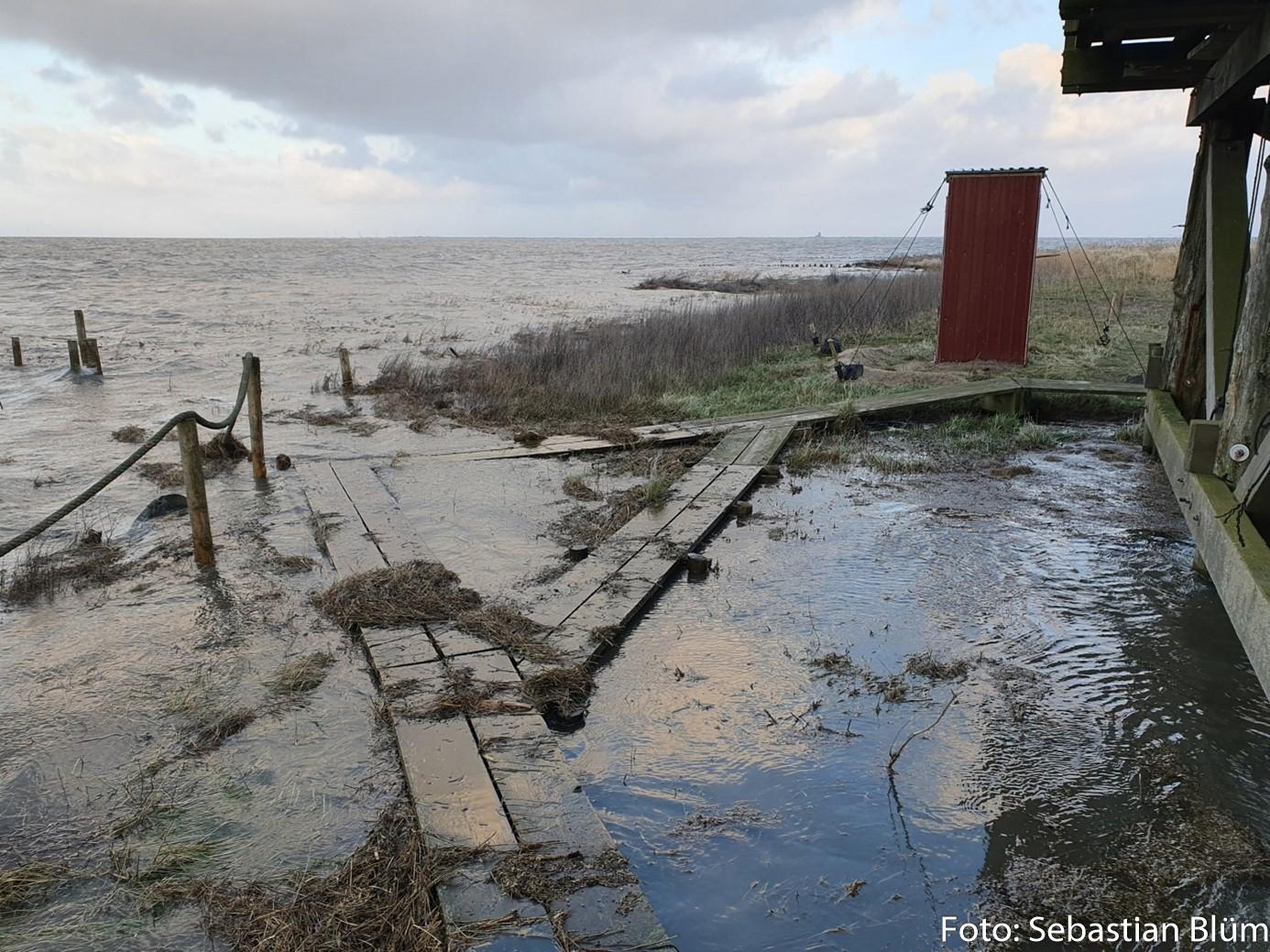 Landunter auf Norderoog