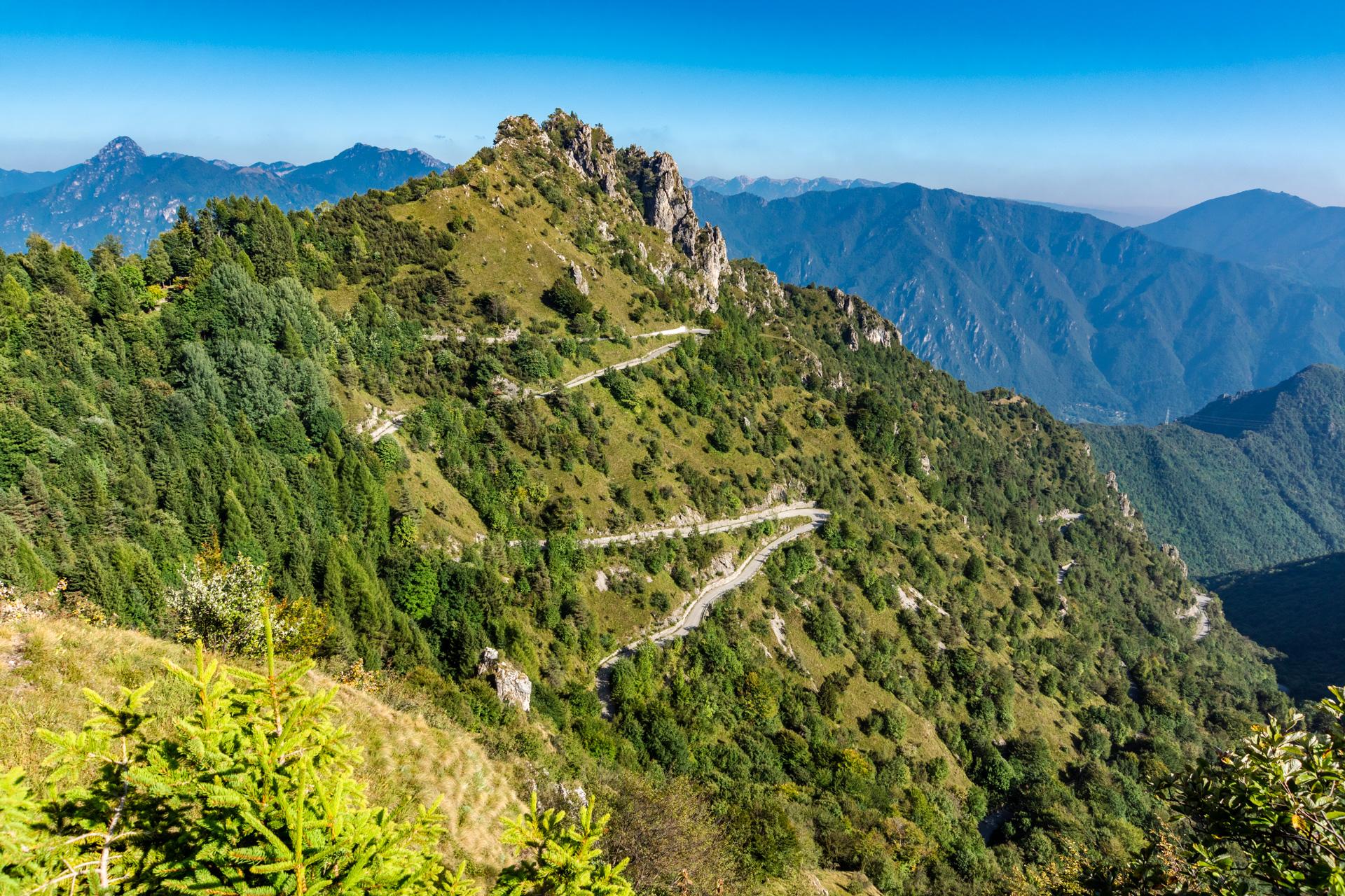 Monte Baldo, Passi Baremone e Maniva