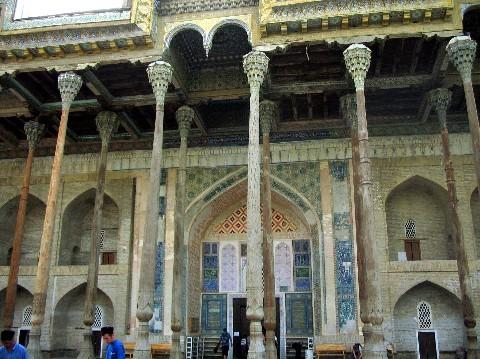 Mosquée aux quarante colonnes