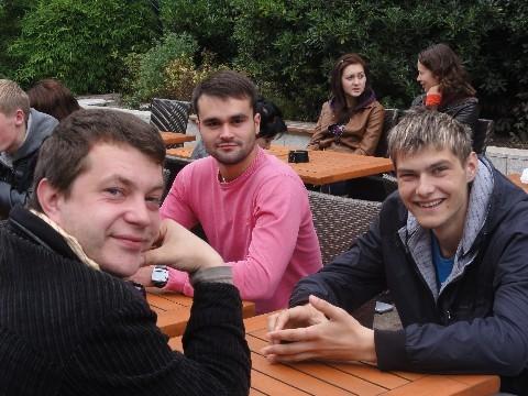 Accueil de jeunes Lettons 07/09/2012
