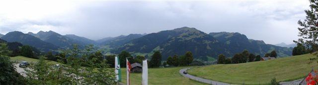 Vue panoramique depuis chez Rosi