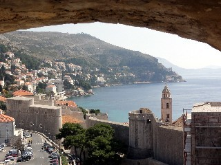 Vue depuis la vieille ville