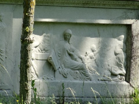 Sculpture du cénotaphe