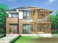 木造軸組工法と先進のテクノロジーが融合