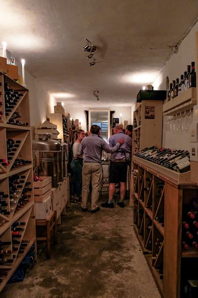 Wine Cellar Positano Home Cooking Class