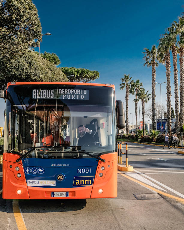 Alibus Airport Bus Naples Italy