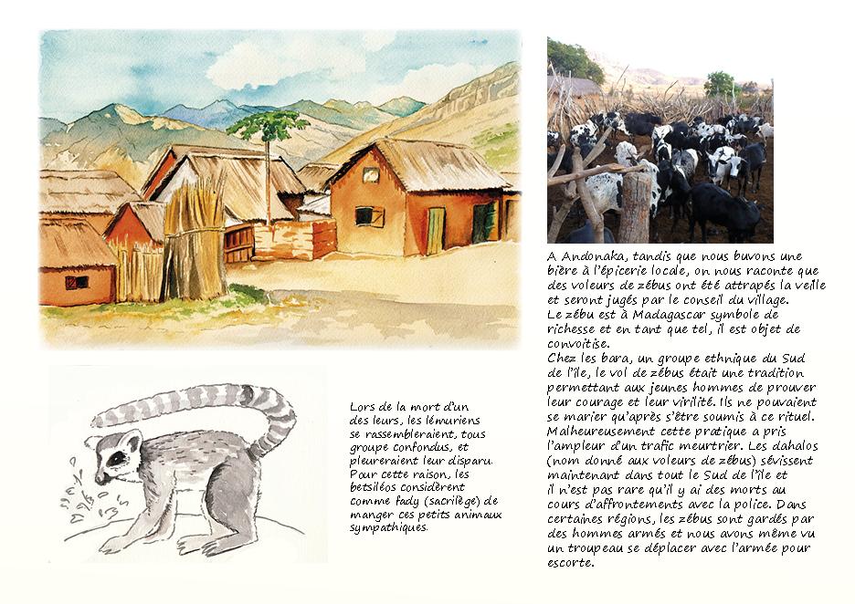 Carnet de voyage à Madagascar Tsaranoro