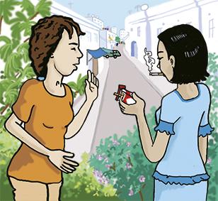 illustration diabète et tabagisme
