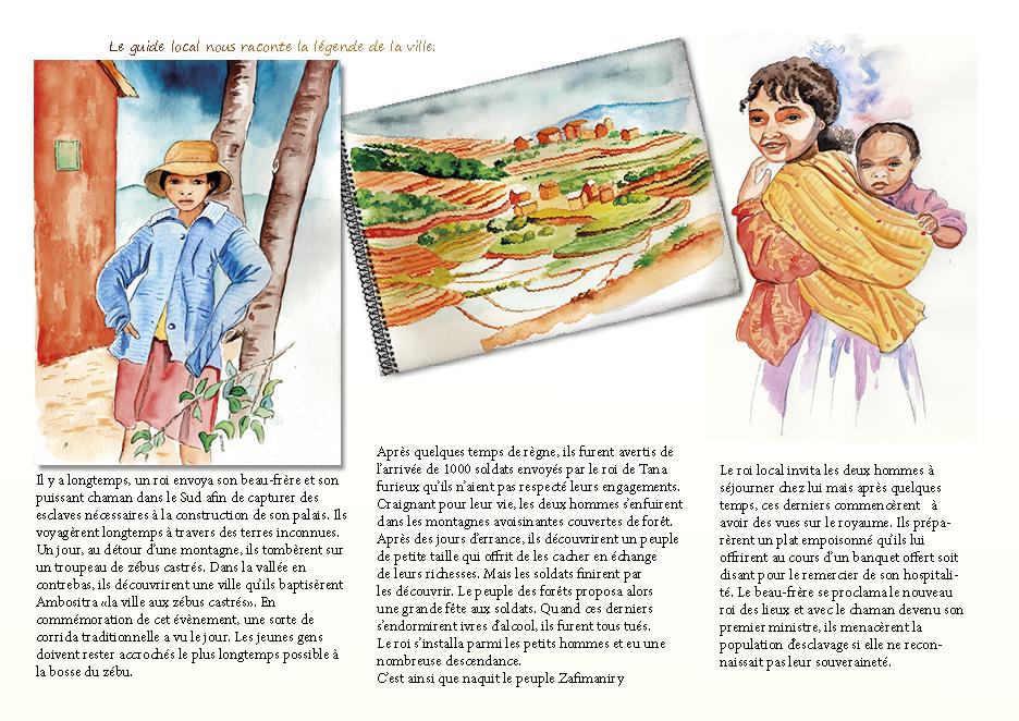 Carnet de voyage à Madagascar Ambositra