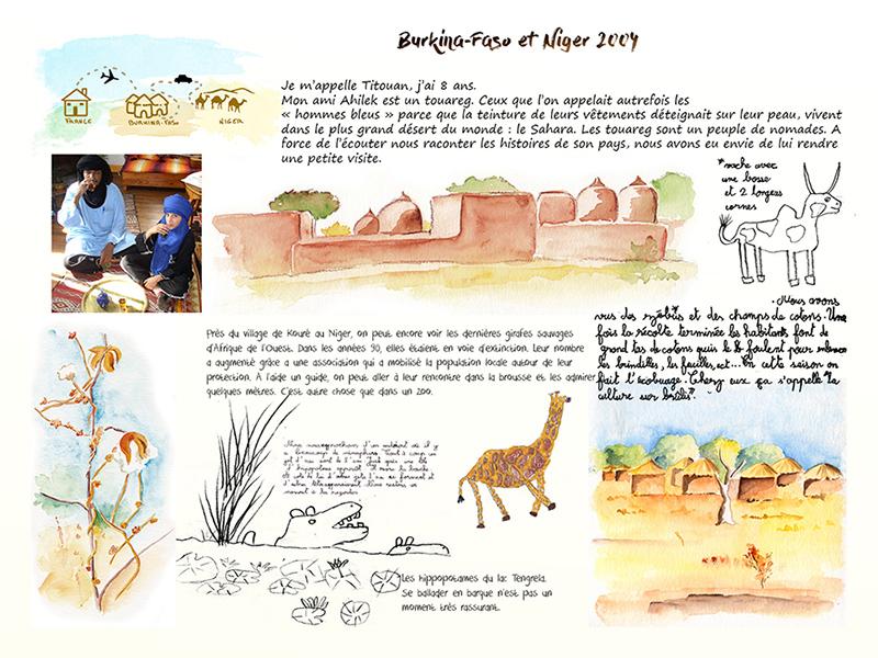 Carnet de voyage au Niger