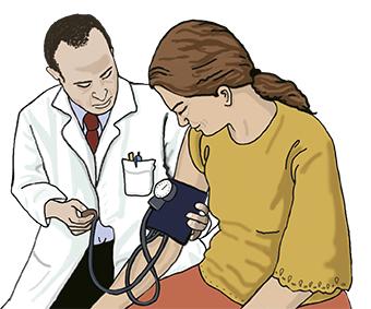 illustration diabète et contrôle médical