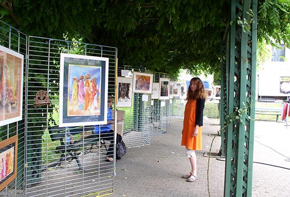 journée des migrants avec une exposition de Titouan Lamazou