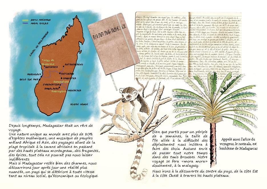 Carnet de voyage à Madagascar