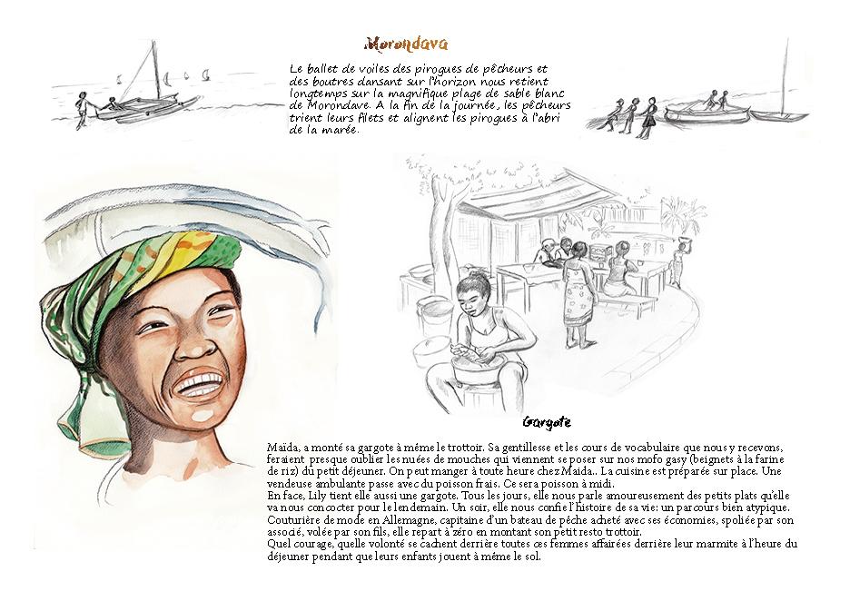 Carnet de voyage à Madagascar Morondava