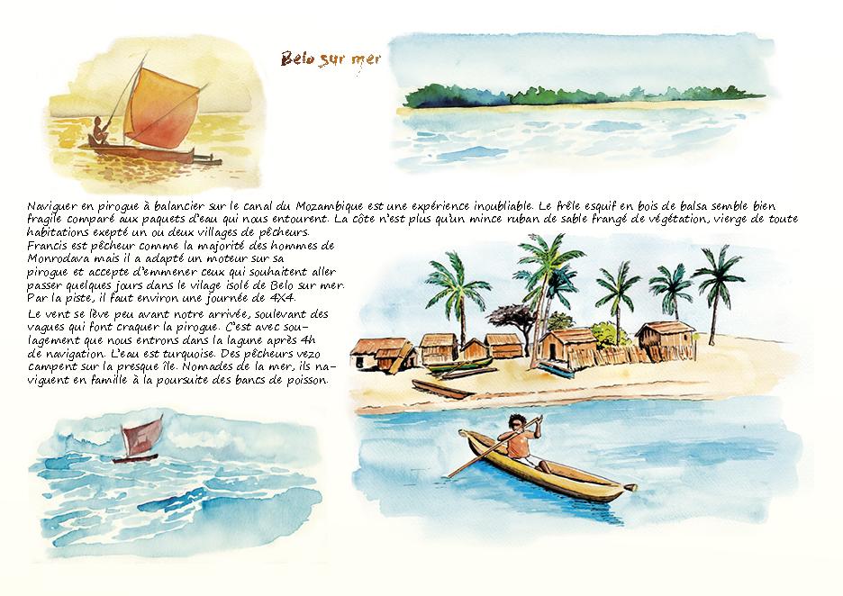 Carnet de voyage à Madagascar Belo sur mer