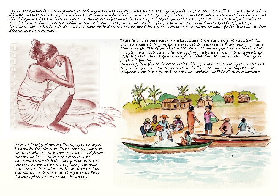 Carnet de voyage à Madagascar Manakara