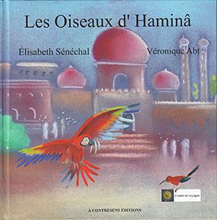les oiseaux d'Haminâ, couverture livre jeunesse
