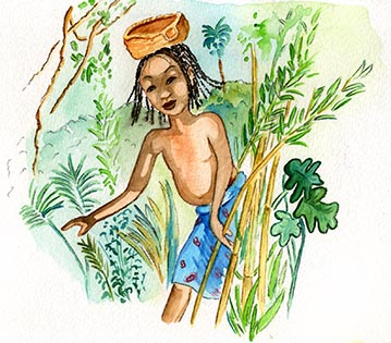 Kumba la carpe- illustrations: Véronique Abt