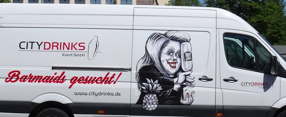 Werbeillustration (Autowerbung von Werbeagentur Sira Gromann)