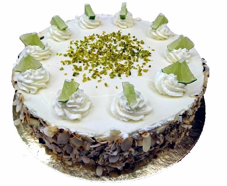 Joghurt - Limette - Torte, 26cm