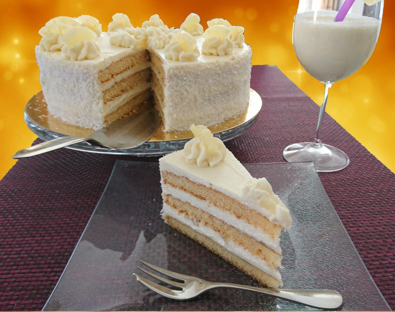 Pina Colada Torte, 26cm